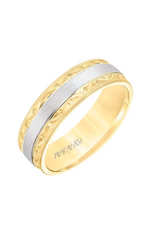 ArtCarved Wedding band Engraved 11-WV8674YW65-G product image