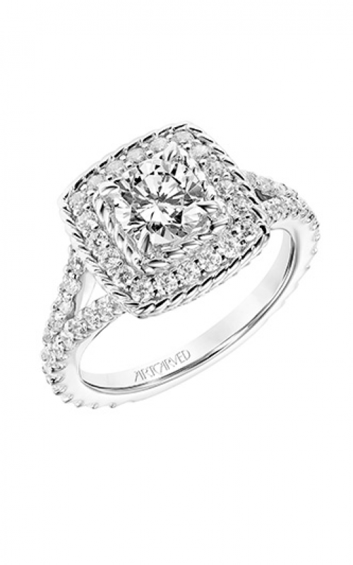 ArtCarved Contemporary Engagement ring 31-V754DRW-E product image
