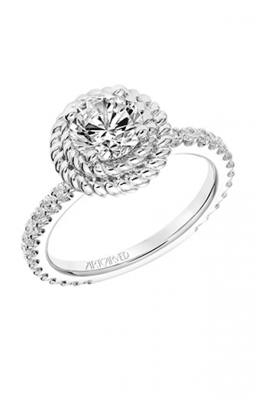 ArtCarved Contemporary Engagement ring 31-V752ERW-E product image