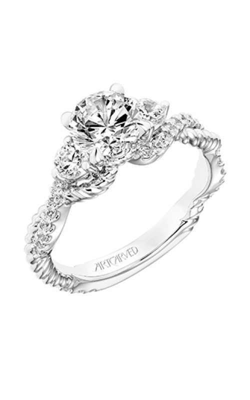 ArtCarved Contemporary Engagement ring 31-V757ERW-E product image