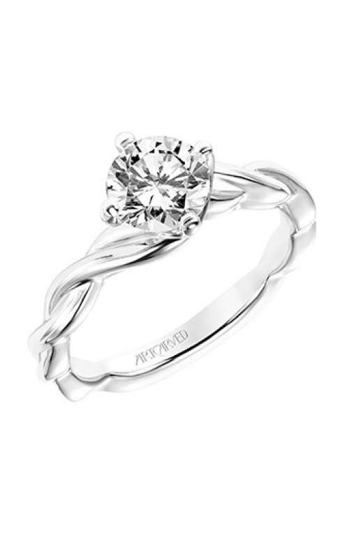 ArtCarved Contemporary Engagement ring 31-V769ERW-E product image
