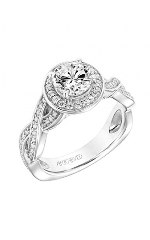 ArtCarved Contemporary Engagement ring 31-V771ERW-E product image