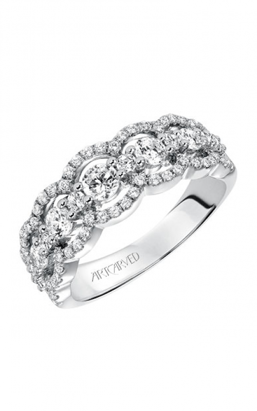 ArtCarved Contemporary Wedding band 33-V9134W-L product image