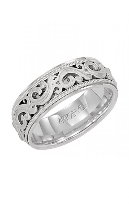ArtCarved Vintage Wedding band 11-WV7300W-G product image