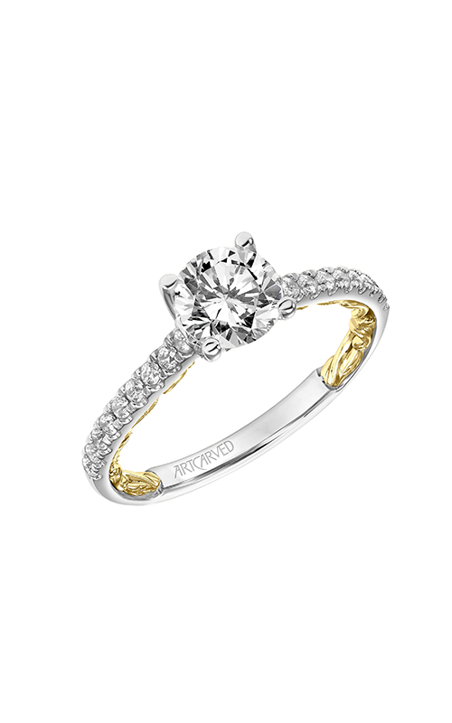 ArtCarved Lyric Engagement ring 31-V912ERWY-E product image