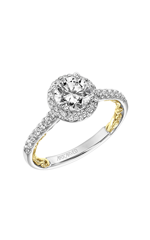 ArtCarved Lyric Engagement ring 31-V924ERWY-E product image