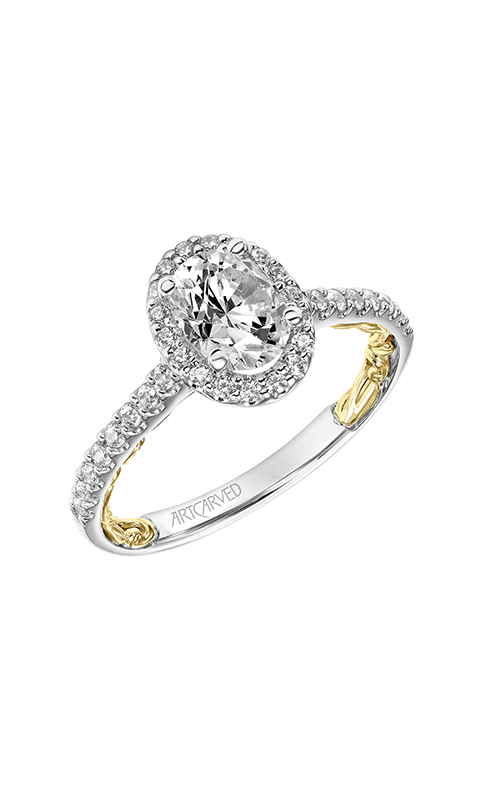 ArtCarved Lyric Engagement ring 31-V929EPWY-E product image
