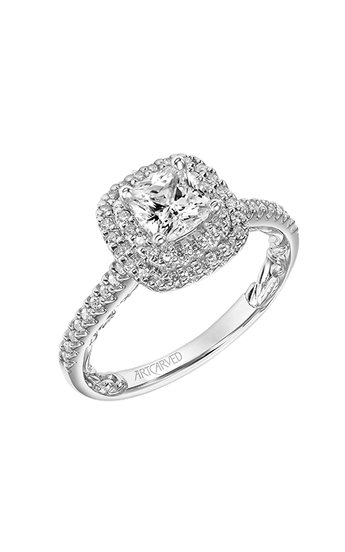 ArtCarved Lyric Engagement ring 31-V931EUW-E product image