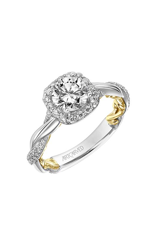 ArtCarved Lyric Engagement ring 31-V933ERWY-E product image
