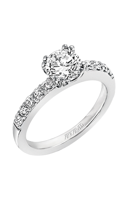 ArtCarved Classic Engagement ring 31-V223ERW-E product image
