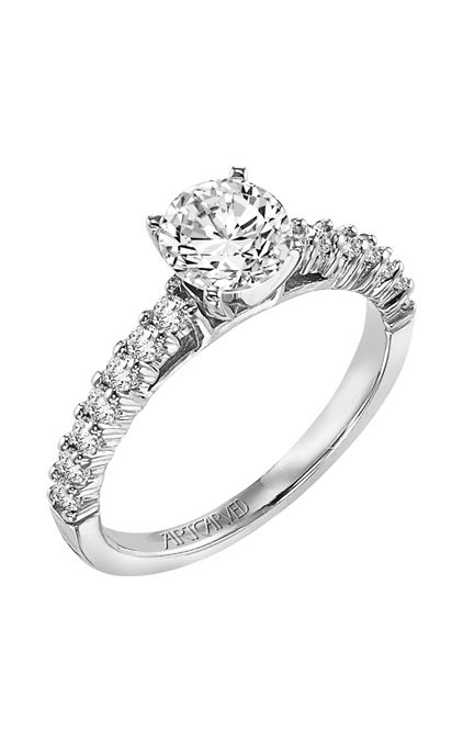ArtCarved Classic Engagement ring 31-V239ERW-E product image
