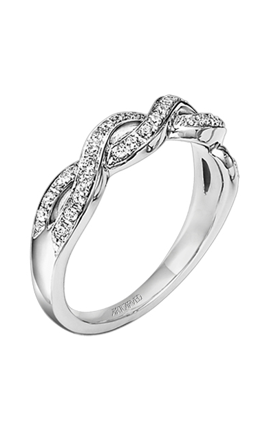 ArtCarved Contemporary Wedding band 31-V158W-L product image
