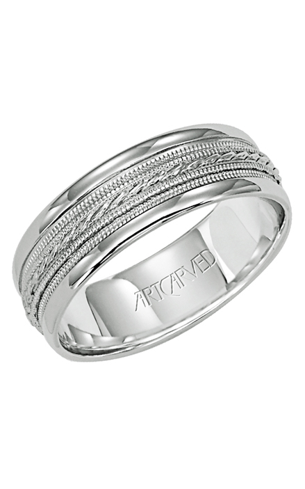 Artcarved OPULENCE 7MM 14KT Wedding Ring 11-WV5031W-G product image