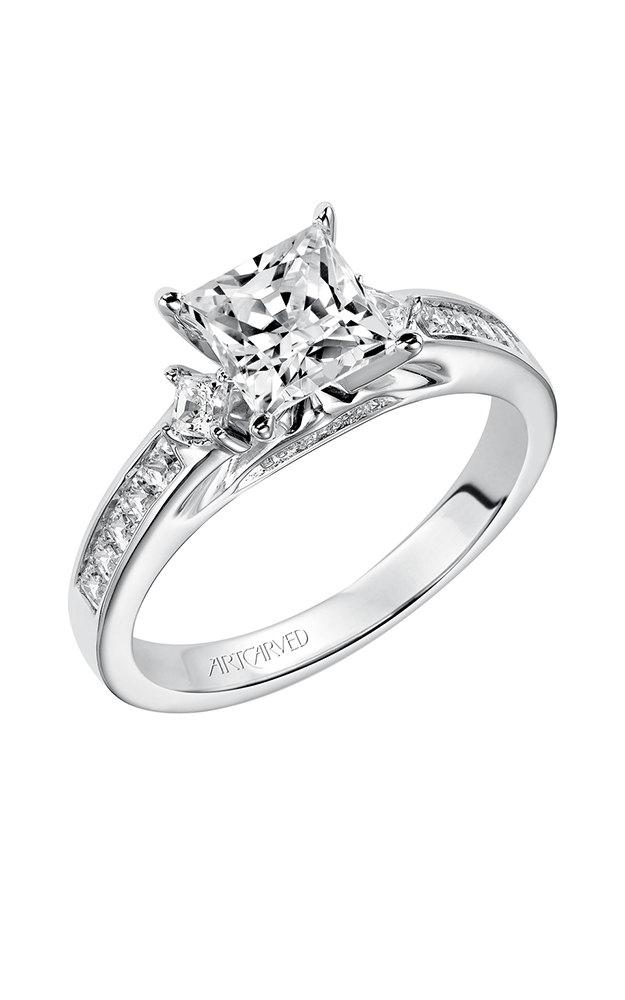 ArtCarved Classic Engagement ring 31-V185FCW-E product image