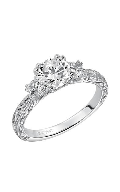 ArtCarved Vintage Engagement ring 31-V433ERW-E product image