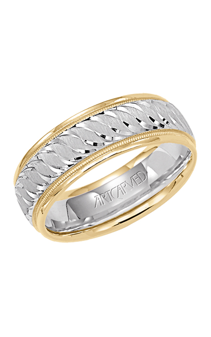 Artcarved WHISPERS OF LOVE Men's Wedding Band 11-WV5568-G product image
