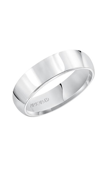 Artcarved 6.0MM PLAIN WEDDING RING 01-P060-G product image
