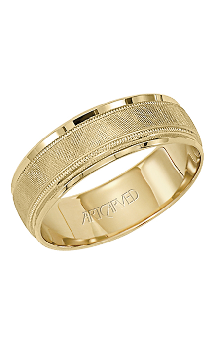 Artcarved GALLANT 6MM 14KT WEDDING RING 11-WV3402-G product image