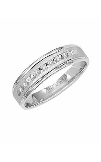 Artcarved PEMBROOK 6MM CF DIA WED RING 21-V3107W-G product image