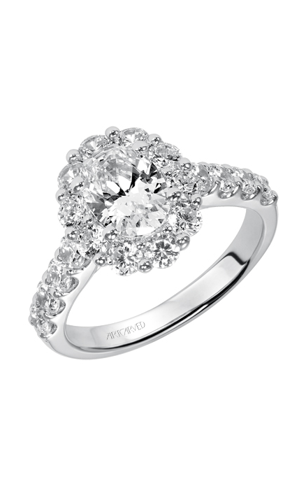 ArtCarved Classic Engagement ring 31-V332EVW-E product image