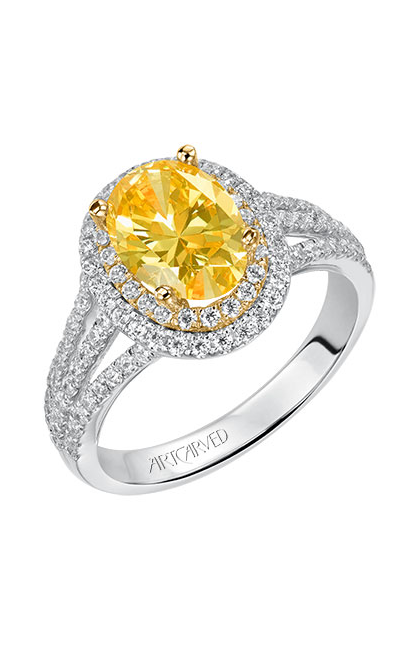 ArtCarved Classic Engagement ring 31-V550HVA-E product image