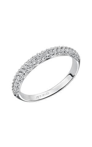 Artcarved  Diamond Band White Gold-A  Ladies Wedding Band  33-V9130W-L product image