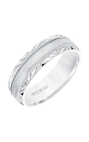 Artcarved Men's Engraved Wedding Band 11-WV8673W65-G product image