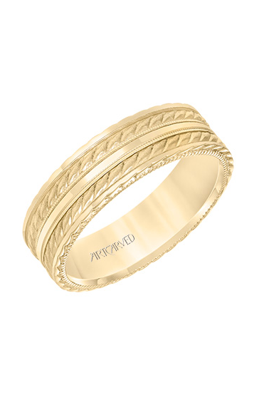 Artcarved Men's Engraved Wedding Band 11-WV8639Y65-G product image