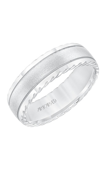 Artcarved Men's Engraved Wedding Band 11-WV8642W7-G product image