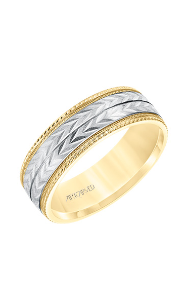 Artcarved Men's Engraved Wedding Band 11-WV8670YW7-G product image