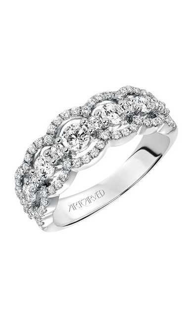 Artcarved Women's Contemporary Wedding Band 33-V9134W-L product image
