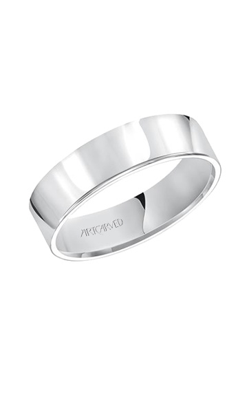 Artcarved 6MM CF FLAT WED RING 01-FIR060-G product image