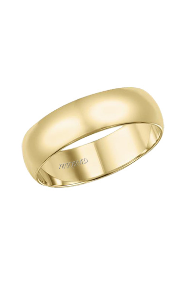 Artcarved 6MM LOW DOME Wedding Band 01-LD060-G product image