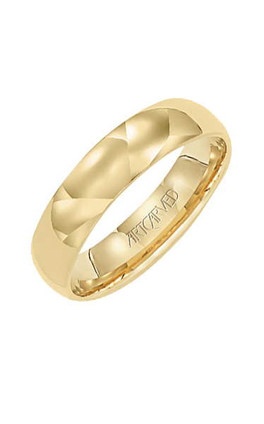Artcarved 5MM CF LOW DOME WED RING 01-WVLDIR5-G product image