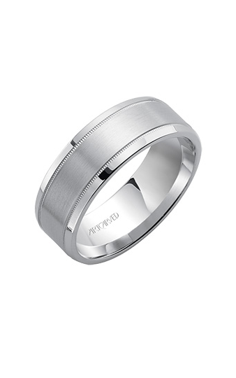 Artcarved EVERLOVE 7.5MM Engrave Band 11-WV591W75-G product image