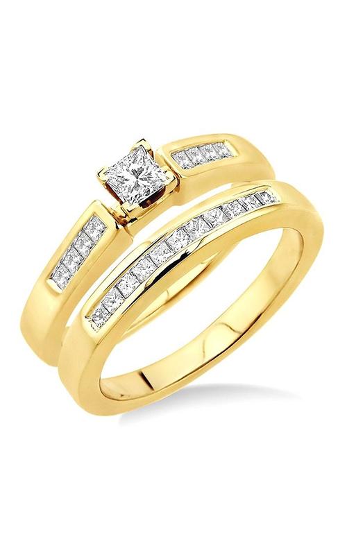 Ashi Wedding Set Engagement ring 25762WIFC-WS product image
