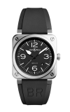 Bell and Ross Aviation BR 03 42 MM Watch BR03-92 Steel