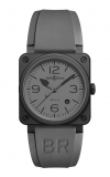 Bell and Ross Aviation BR 03 42 MM Watch BR03-92 Commando