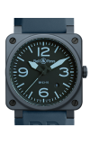 Bell and Ross Aviation BR 03 42 MM Watch BR03-92 Blue Ceramic