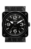 Bell and Ross Aviation BR 03 42 MM Watch BR03-92 Ceramic
