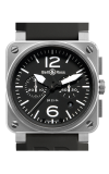 Bell and Ross Aviation BR 03 42 MM Watch BR03-94 Steel