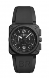 Bell and Ross Aviation BR 03 42 MM Watch BR03-94 Carbon