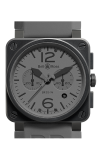 Bell and Ross Aviation BR 03 42 MM Watch BR03-94 Commando