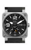 Bell and Ross Aviation BR 03 42 MM Watch BR03-51 GMT Titanium