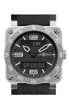 Bell and Ross Aviation BR 03 42 MM Watch BR03 Steel