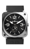 Bell and Ross Aviation BR S 39 MM Watch BR S Steel