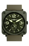 Bell and Ross Aviation BR S 39 MM Watch BR S Miltary