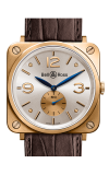 Bell and Ross BR S MECANIQUE BR S Pink Gold White Dial