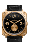 Bell and Ross BR S MECANIQUE BR S Pink Gold Black Dial