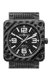 Bell and Ross Aviation BR 01 46 MM Watch BR01-92 Carbon Fiber